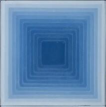Four Elements - Square - Blue