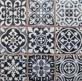 Chancel Black Ceramic tiles