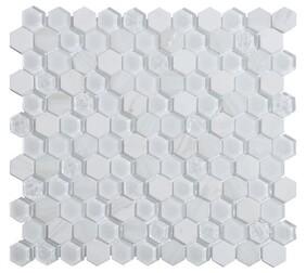 Living White Mosaic