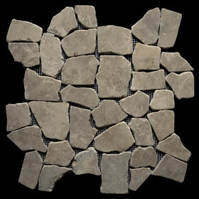 Tan Marble Large Random tiles